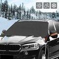 1 stücke Schnee Und Frost Proof Auto Frontscheibe Sonnenschirm Schnee Abdeckung Winter Sonnencreme Windschutzscheibe Fenster Block-in Car-Cover aus Kraftfahrzeuge und Motorräder bei