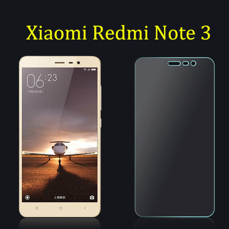 Xiaomi Redmi Note 3 tempered glass HD Screen Protector  Film 5.5 Inch screen protector glass mobile phone accessories
