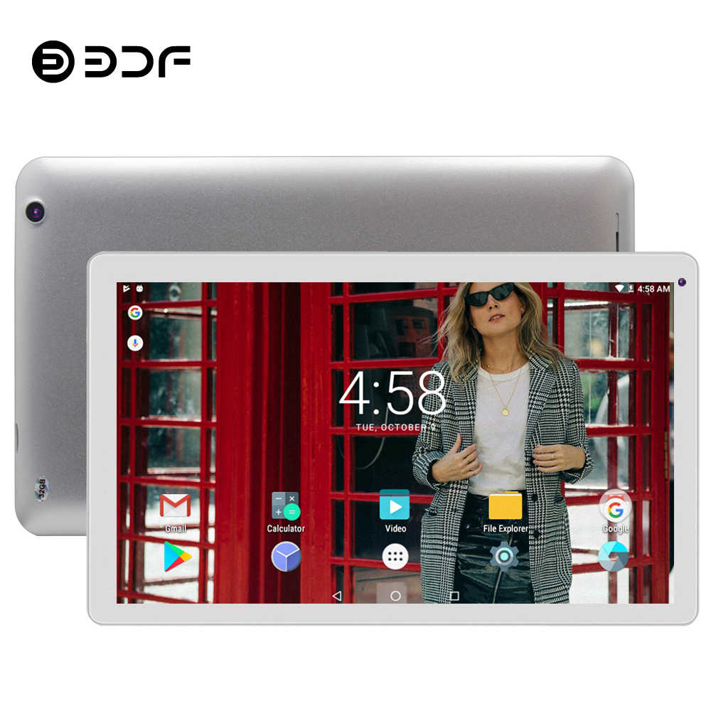 Tableta BDF de 10 pulgadas de gran tamaño Android 5,1 Tablet Pc 1 GB de RAM + 32 GB ROM soporte de cuatro núcleos video Google Play WiFi tabletas 7 8 9 10 Tab