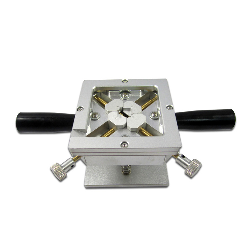 90x90MM BGA Reballing Station Dual Direction Position self-locking 90*90mm BGA Stencils Fixture Jig bga reballing rework station with hand grip for 90x90mm stencils templates new