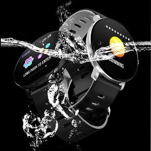 Image 2 - SENBONO K9 Men Smart watch IP68 waterproof IPS Full Touch Heart rate monitor Fitness tracker Sports Women smartwatch PK V11 K1