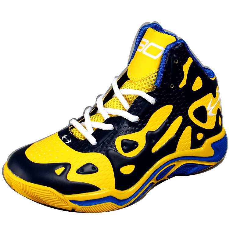 2016 Hot Sale New Kids' Sneakers Children's basketball shoes damping slip  Breathable men and women