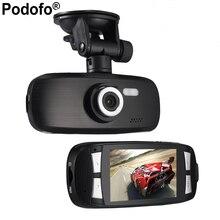 Podofo Dash Cam Original Car Video Recorder G1w Car DVR camera with Novatek 96650 + Wdr Technology + 2.7″ LCD Car Camera Gs108