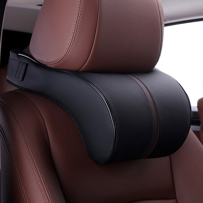 Cushion Pillows Memory Car-Headrest Neck-Rest Safety-Seat-Support Car-Styling-Accessories