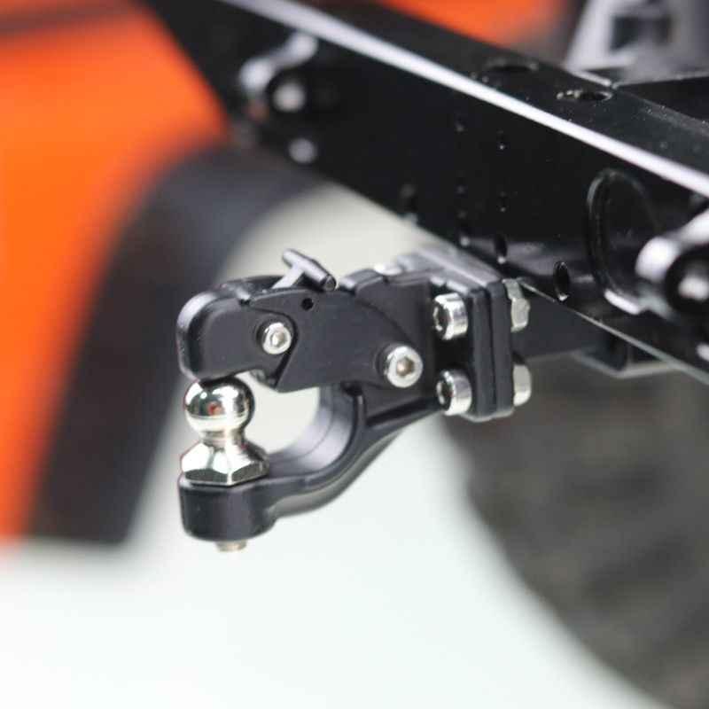 Logam Hitch Hook Trailer untuk TRX4 RC Crawler 1:10 SCX10 90046 90047 Mobil