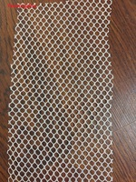 220cm*10yards White Sigle Eye Stretch Mesh Fabric Dresses Clothing Shoes Lining Material Hexagonal Wire Netting Cloth