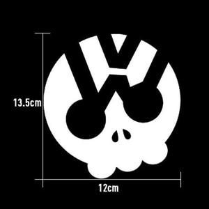 Image 2 - SLIVERYSEA Phantom Ghost Rider Devil Skull Vinyl Car Decals Stickers Motorcycles Decoration Black/Silver