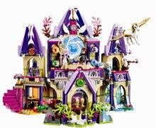 Kompatibilis Giftse Elves Skyra titokzatos Sky Castle Elves 809pcs Építőelemek Tégla Játékok Kompatibilis Legoe Girls Friends
