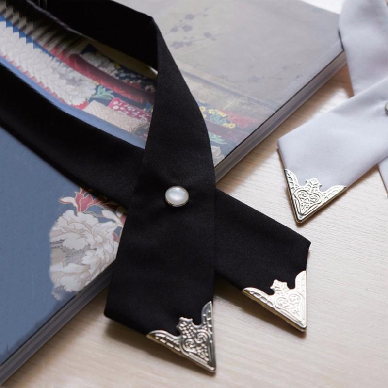 2016-Fashion-Adjustable-Cross-Polyester-Tie-Solid-Color-Collar-Cross-Wedding-Tie-White-Universal-Necktie-High (2)