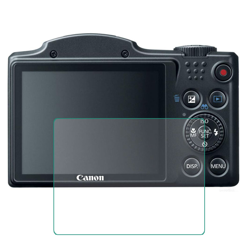 Tempered Glass Screen Protector for <font><b>Canon</b></font> <font><b>Powershot</b></font> SX170 SX400 <font><b>SX410</b></font> SX430 <font><b>IS</b></font> SX510 SX500 SX530 HS Camera Screen Film Cove image