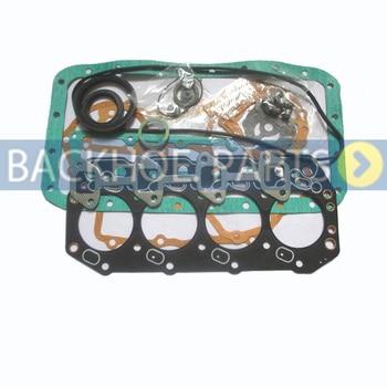 Engine Full Gasket Kit for Yanmar 4TNV94L Excavator R60-9S R60W-9S R55-7 R55W-7