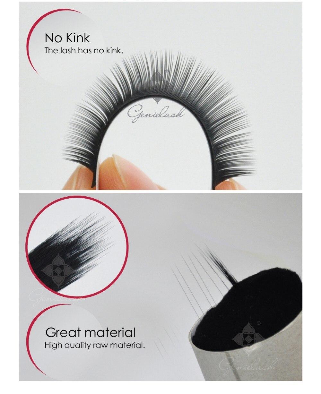 volume fácil escolher 6d cílios pré-fabricados cílios de maquiagem