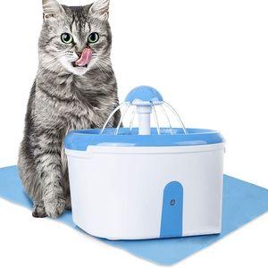 Кот фонтан воды-ПЭТ диспенсер воды с активированным углем фильтр очиститель-автоматический датчик питьевой воды с анти-разливом B
