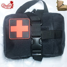MY DAYS Tactical Ifak First Aid Bag MOLLE EDC Rip-Away Medical Military Utility Pouch rescue waist pack for camp hunting hiking new 10 pairs pack aed training machine adult electrode pads use for simulated first aid rescue heartstart trainer