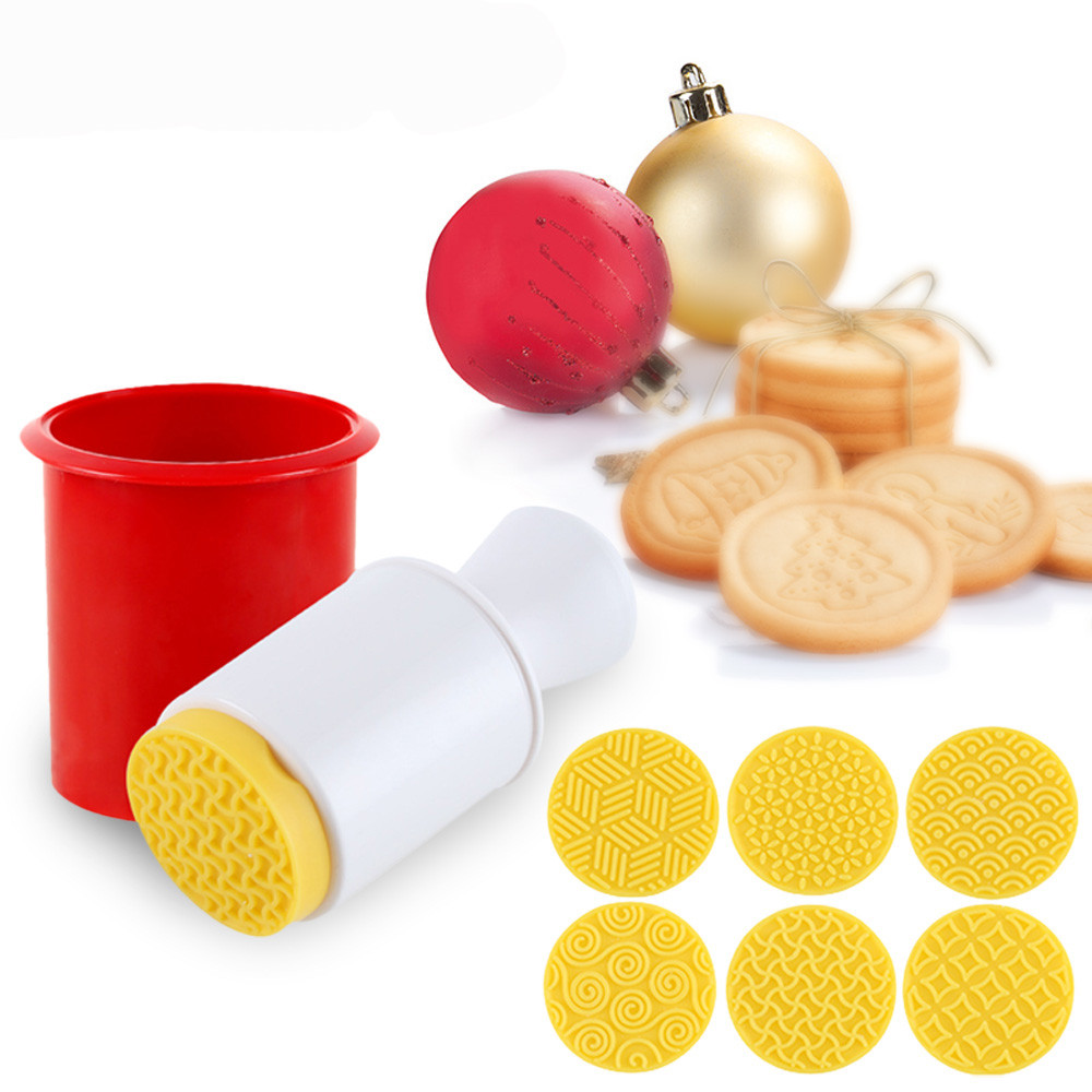 Kitchen Gadgets Stores: 6pcs / Set Cartoon Stamps Molds Cookie Tools Cake