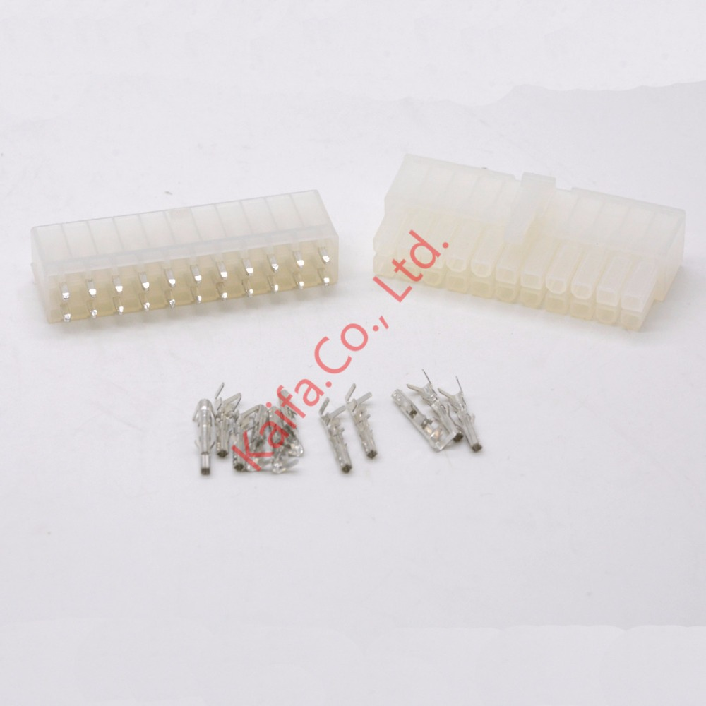 10 Sets 22 Pin Way 4 2mm Straight Needle 5557&5569 Wire Terminals Ford  Speaker Connector Ford Tc40a Switch Wiring Harness Connector