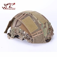 FMA Hunting Tactical Combat Paintball Air Soft Helmet Cover Durable Light Weight Half Covered Helmet Cloth