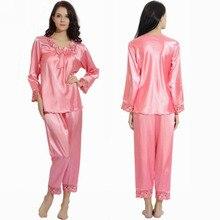 Wholesale satin pajamas girls