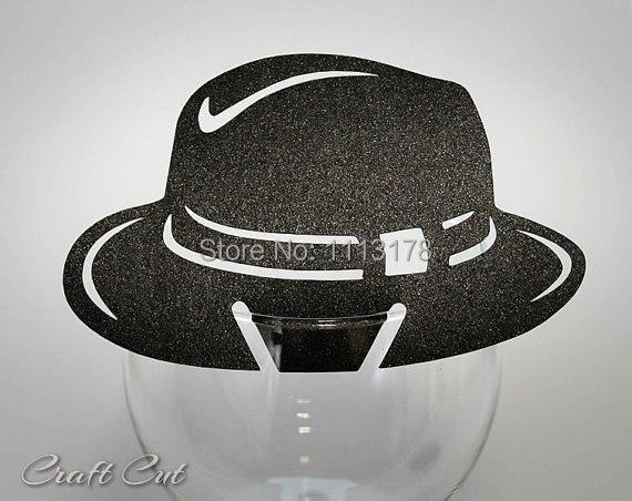 Al Capone Hat Place Card Chicago Wedding Name Decor Gangster Mafia Party Wine Gl Decoration