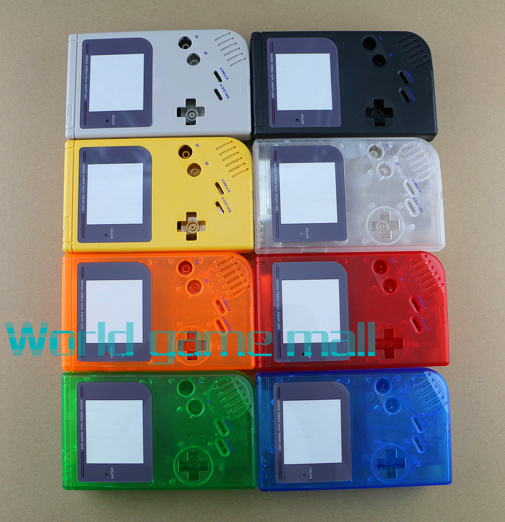 New replacement full set housing for game boy <font><b>GB</b></font> shell <font><b>case</b></font> for GBO DMG image