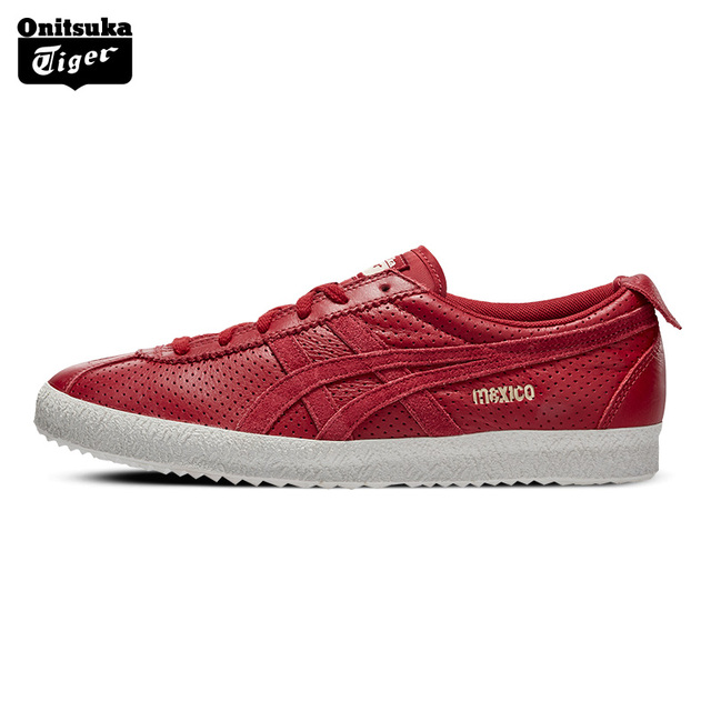 another chance 0bd43 7490f US $252.65 |Onitsuka Tiger Skateboarding Shoes Unisex Classics Comfortable  Breathable Sneakers Outdoor Sports MEXICO DELEGATION D808L-in Skateboarding  ...