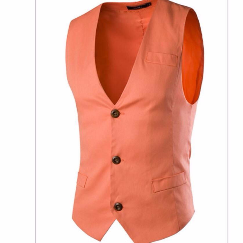 15.1 Gilet Mens Blazers Suit Vest Solid Slim Fit Mens Dress Vests For Men Waistcoat pure Color Business Vest homme Jacket Spring Autumn