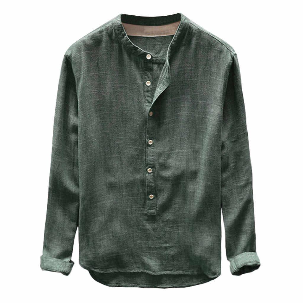 cd16b43649 Verano Streetwear Camisa de los hombres de algodón de lino amarillo hombres  Camisas Casual Slim Fit