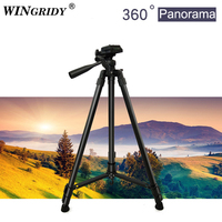 WINGRIDY Profesional Camera Tripod Stand for Canon Nikon Sony DSLR Camera Camcorder Mini Protable Live Tripod For Phone Camera