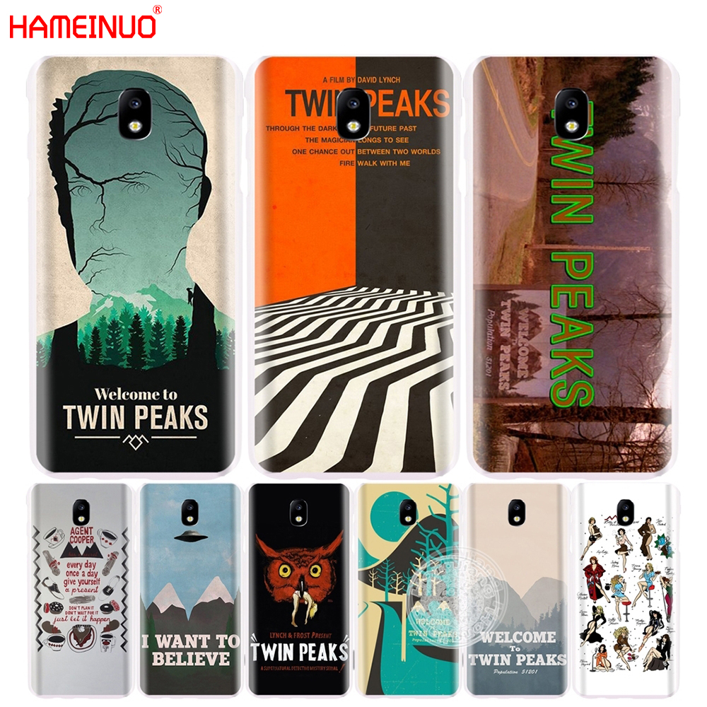 HAMEINUO Welcome To Twin Peaks cover phone case for Samsung Galaxy J3 J5 J7 2017 J527 J727 J327 J3 Prime J330 J530 J730