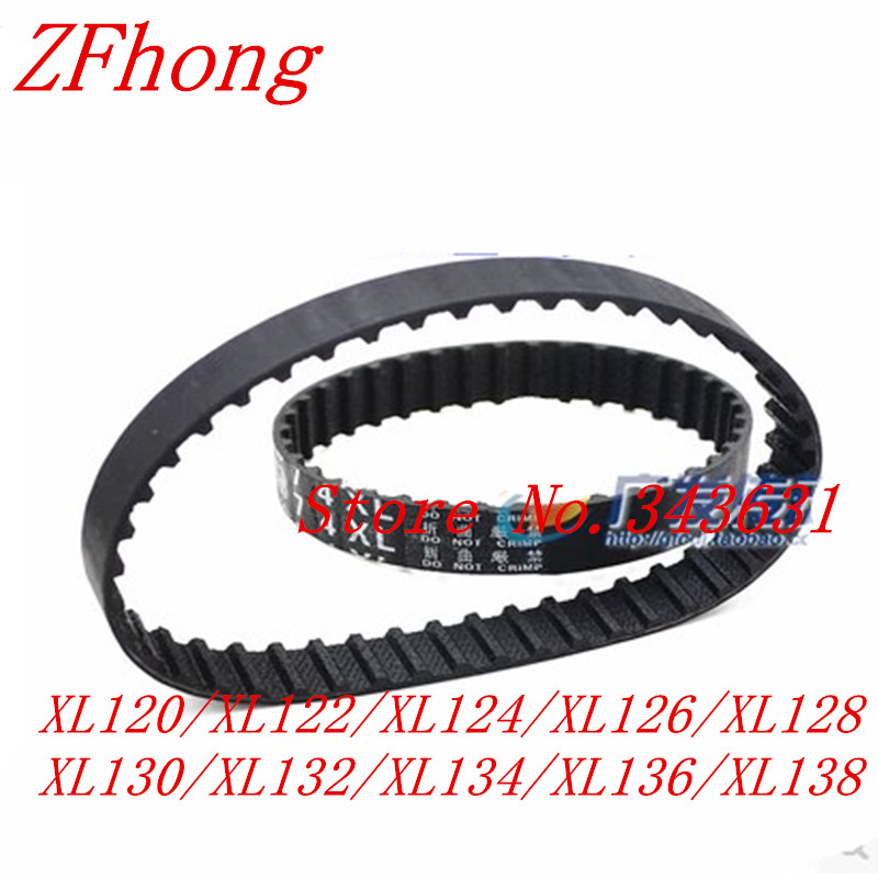 1pc//5pcs 174XL//176XL//178XL//180XL//182XL//184XL//186XL//188XL//190XL//192XL//194XL Timing Belt 10mm Width Rubber Gear Belt Toothed Pulley Belt Color : 174XL, Size : 1pc NO LOGO LMY-PULLEY