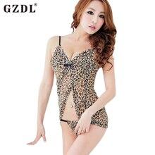 Mesh Leopard Strap Transparent