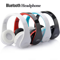 Handsfree Stereo Headphone Casque Audio Bluetooth Headset Big Earphone Cordless Wireless Headphone For Cell Phones Computer PC