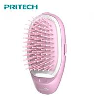 Pritech Mini Hair Comb Electric Massage Hair Brush Potable Comb Brush For Hair Take Out Anti -Static Girls Hair Brush 1