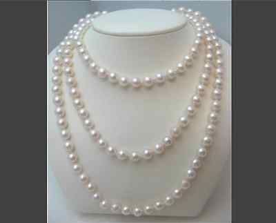 classic 9-10mm south sea white round pearl necklace 48inch >Selling jewerly free shippingclassic 9-10mm south sea white round pearl necklace 48inch >Selling jewerly free shipping