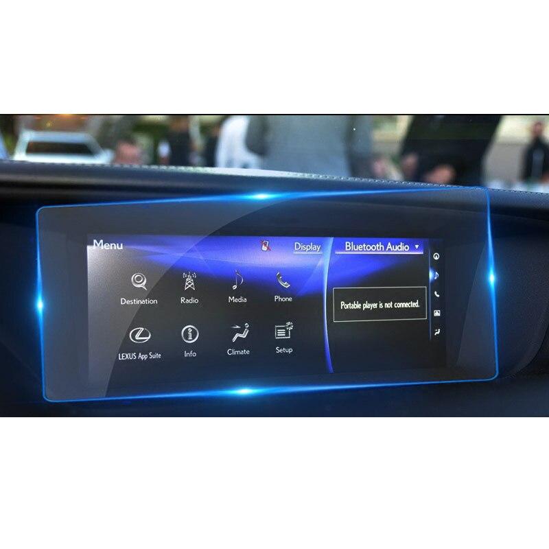lsrtw2017 car GPS navigation screen protective toughened film for lexus gs200t gs250 gs300h gs450h