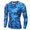 2017 Summer Men Camouflage Shirt Quick Dry Breathable Tights Army Tactical T-shirt Mens Sportswear Compression T Shirt Fitness