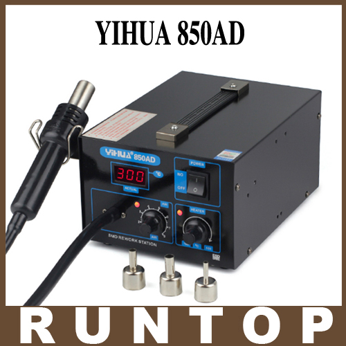 HOT YIHUA 850AD 550w 110v/220v  SMD Hot-Air Electronic Cell Phone Soldering Station Air Pump kindergarten school furniture school furniture price list kids wholesale price with free shipment 50 chairs to vietnam