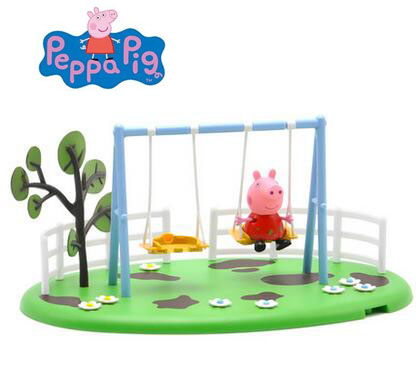 New 2018 hot Genuine Peppa Pig swing Playground toys parent child  interaction toys-in Action & Toy Figures from Toys & Hobbies on  Aliexpress.com | Alibaba ...