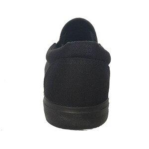 Image 5 - חדש 2019 אופנה נעלי בד גברים סניקרס נמוך למעלה שחור נעליים באיכות גבוהה גברים של נעליים יומיומיות מותג שטוח בתוספת גודל 46 ZHK168