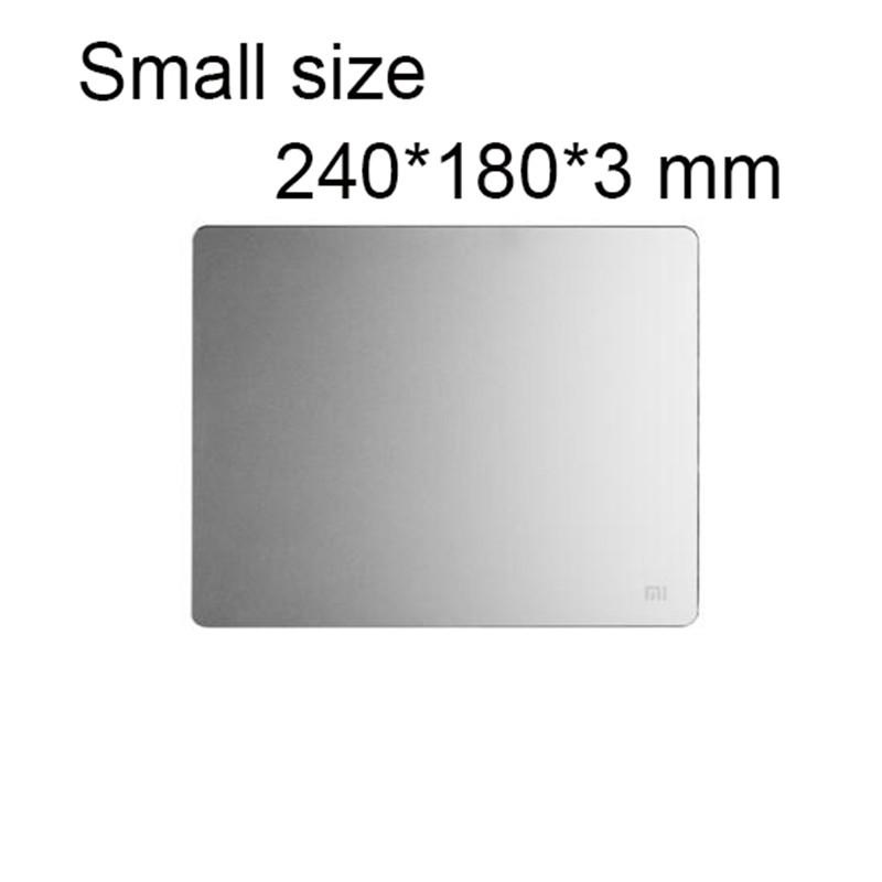 Support en aluminium pour souris d'ordinateur de petite taille
