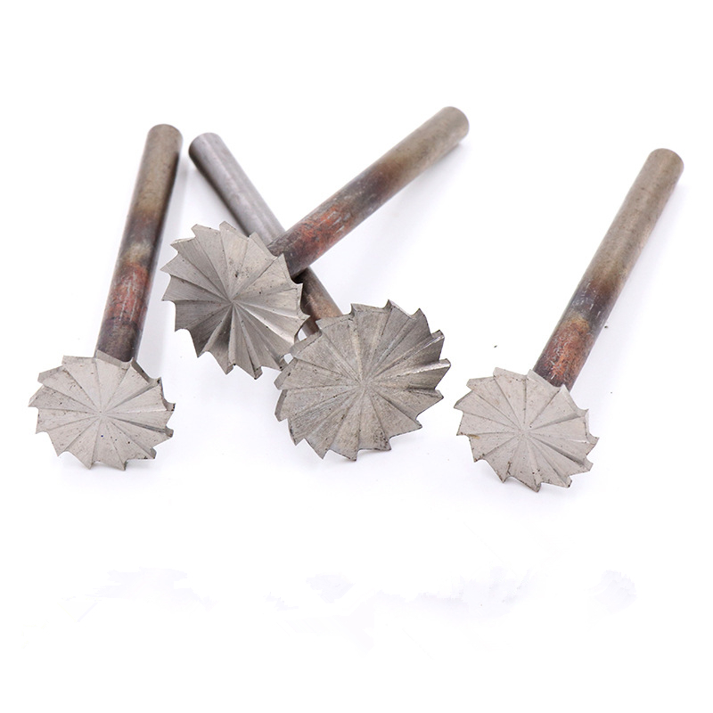ZtDpLsd 1Pcs 6mm Shank Carbide Burrs Drill Bit Set Rotary Burr Micro Bits Metal Woodworking Carving Glass Diamond Cutting Tools