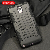 Note 3 Case Belt Clip Holster Rugged Hybrid Hard Stand Case For Samsung Galaxy Note 3
