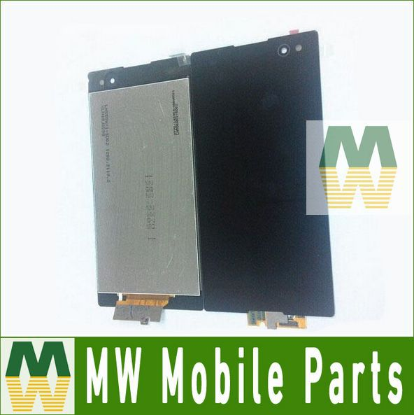 ФОТО For Sony Xperia C3 D2533 D2502 Black White Color LCD Display With Touch Screen 10PCS/Lot Free DHL EMS