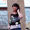 Alta calidad cómodo 4 Diseños estilos Mei Tai Porta Bebé Moda Patrón Sling Ergonómico Para 0-3 Años los niños infantil