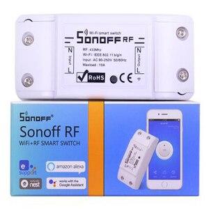 Image 5 - Sonoff 基本 R3 無線 lan スイッチ sonoff マイクロ rf RM433 捕虜 R2 433 rf ブリッジリモコンワイヤレススマートホームタイマー alexa 経由スイッチ