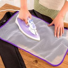 Heat Resistant Cloth Mesh Ironing Board Mat Cloth Cover Protect Ironing Pad Household Reticulated Protective Insulation 40x60cm cheap Mesh Cloth Reticulated Ironing Pad Solid High Quality Keeps the iron from dircetly touching clothes wholesale accepted Mesh Fabric