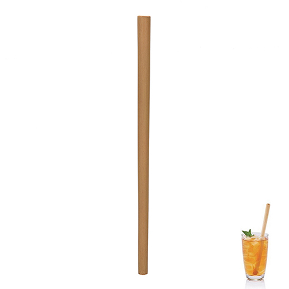 12x Bamboo Straws Eco-Friendly and Natural 32