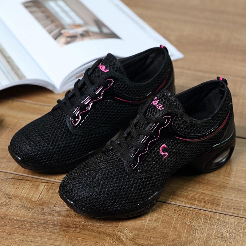 MWY Women Dance Shoes Women Jazz Hip Hop Shoes Salsa Sneakers Platform Dancing Ladies Fitness Training Shoes Deportivas Mujer