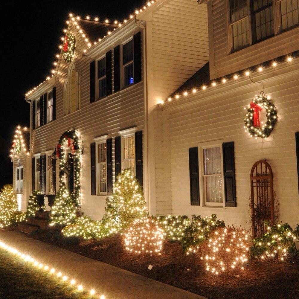 aliexpresscom buy christmas led string lights 10m 100 led luces de navidad 110v 220v fairy lights christmas flasher led decoracion navidad fiestas from - Christmas Light Flasher Plug