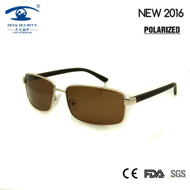 2016 Marca Desginer Homens gafas oculos de sol masculino Moda Luxo Pilot Sun Óculos Polarizados Óculos De Sol Homem Esportes Ao Ar Livre